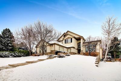 Castle Rock Single Family Home Under Contract: 3345 Elk Run Drive