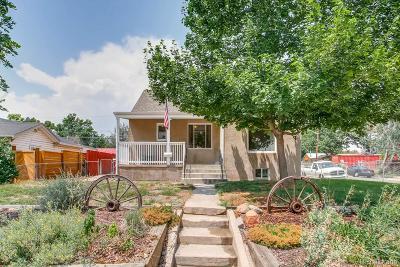 Denver Single Family Home Active: 1185 Xanthia Street