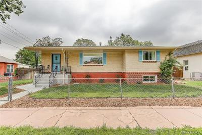 Denver Single Family Home Active: 4120-4122 Zuni Street