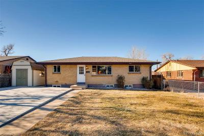 Denver Single Family Home Active: 369 South Wolff Street