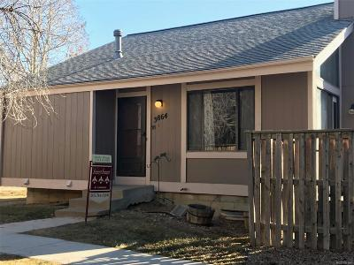 Aurora, Denver Single Family Home Under Contract: 3864 South Genoa Court #B