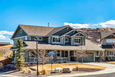 Castle Rock Single Family Home Under Contract: 2378 Short Iron Court