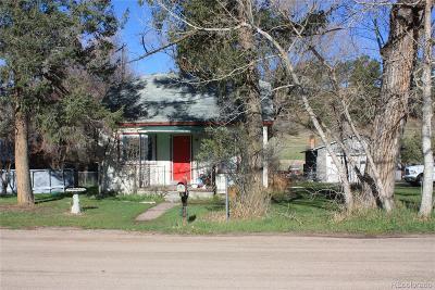 Elbert CO Single Family Home Under Contract: $139,000