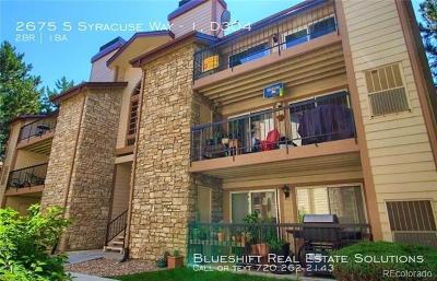 Denver Rental Active: 2575 South Syracuse Way #D304