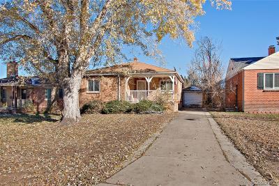 Denver Single Family Home Active: 2950 North Saint Paul Street