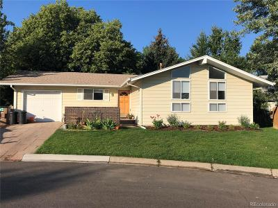 Broomfield Single Family Home Under Contract: 5 Evergreen Pl Ct