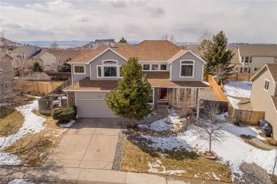 Castle Rock Single Family Home Under Contract: 1714 Foxfield Drive