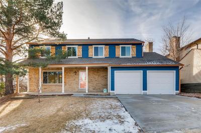 Centennial Single Family Home Active: 5454 East Briarwood Avenue