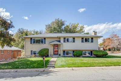 Arvada Single Family Home Active: 6593 Urban Street