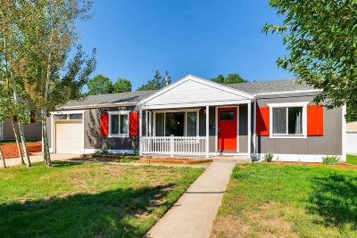 Denver Single Family Home Active: 1451 South Glencoe Street