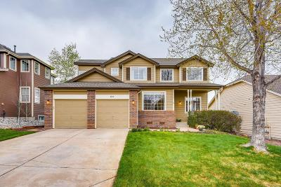 Castle Pines Single Family Home Under Contract: 827 Deer Clover Way