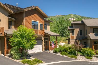 Steamboat Springs Condo/Townhouse Active: 1500 Moraine Circle