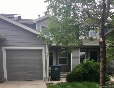 Northglenn Condo/Townhouse Under Contract: 11089 Gaylord Street