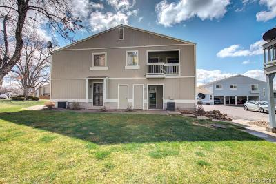 Arvada Condo/Townhouse Under Contract: 7957 Chase Circle #192