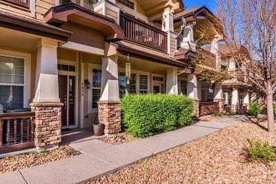 Castle Rock Condo/Townhouse Under Contract: 1438 Royal Troon Drive