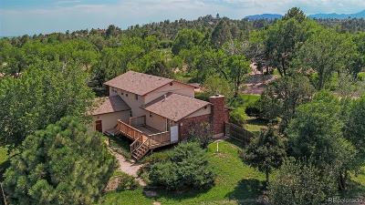 Colorado Springs Single Family Home Active: 5002 Brady Road