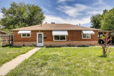 Thornton Single Family Home Active: 9250 Harris Street