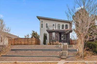 Denver Single Family Home Active: 3526 North Steele Street
