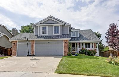 Highlands Ranch Single Family Home Under Contract: 9641 Dolton Court