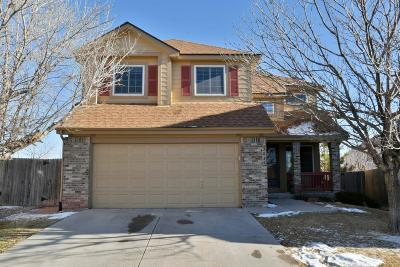 Aurora Single Family Home Under Contract: 3824 South Quemoy Way