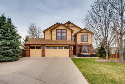 Highlands Ranch Single Family Home Active: 7244 Laredo Court