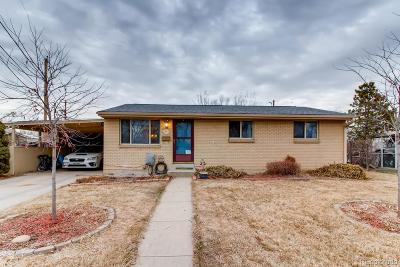 Arvada Single Family Home Under Contract: 6853 West 52nd Place
