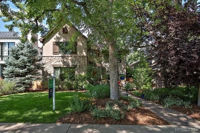 Denver Single Family Home Active: 2467 South Saint Paul Street