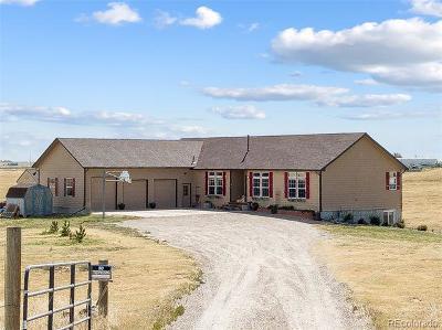 Bennett Single Family Home Active: 44222 East Arkansas Place