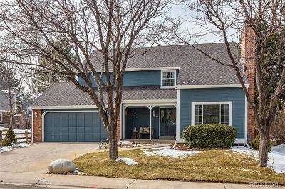Centennial Single Family Home Active: 6423 East Long Circle S