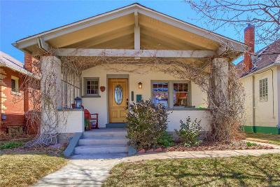 Single Family Home Under Contract: 1040 South Pennsylvania Street