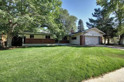 Centennial Single Family Home Active: 881 East Dogwood Avenue