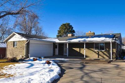Arvada Single Family Home Active: 6953 Vance Street