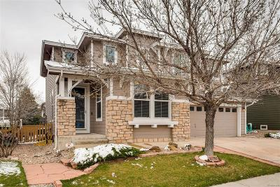 Highlands Ranch Single Family Home Active: 10780 Mountshire Circle