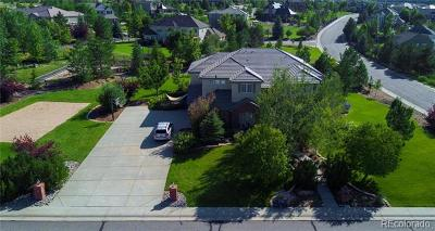 Castle Pines Single Family Home Active: 286 Claymoor Court