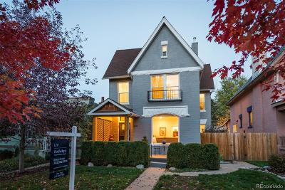 Denver Single Family Home Under Contract: 2230 North Williams Street