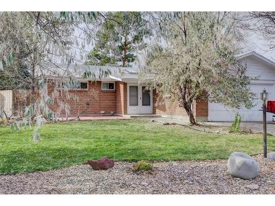 Denver Single Family Home Under Contract: 3495 South Clinton Court