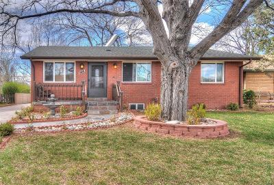 Denver Single Family Home Active: 2231 South Cherry Street