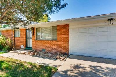 Wheat Ridge Single Family Home Under Contract: 11340 West 47th Avenue