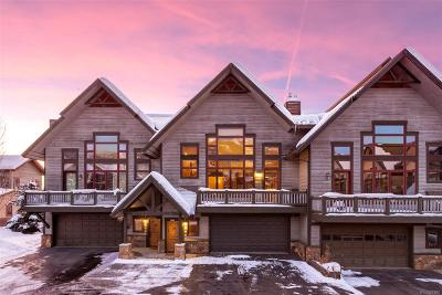 Steamboat Springs Condo/Townhouse Active: 1670 Alpine Vista Court #9