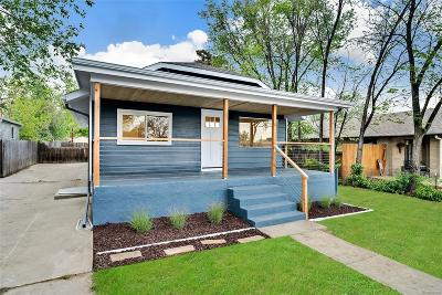 Lakewood Single Family Home Active: 1459 Benton Street
