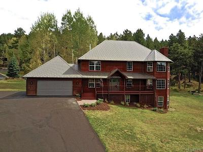 Woodland Park Single Family Home Under Contract: 751 Majestic Parkway