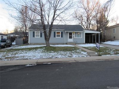 Thornton Single Family Home Under Contract: 1660 Ruth Drive