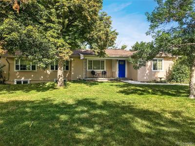 Wheat Ridge Single Family Home Under Contract: 7865 West 46th Avenue