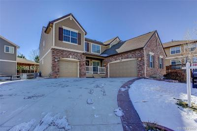 Castle Pines CO Single Family Home Under Contract: $585,000