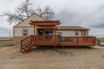 Keenesburg Single Family Home Active: 6460 County Road 65
