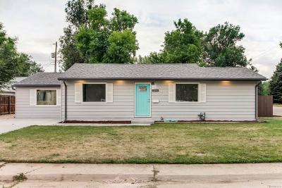 Littleton Single Family Home Active: 2196 West Arbor Place