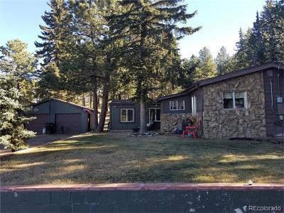 Woodland Park Single Family Home Active: 144 South Forty Road