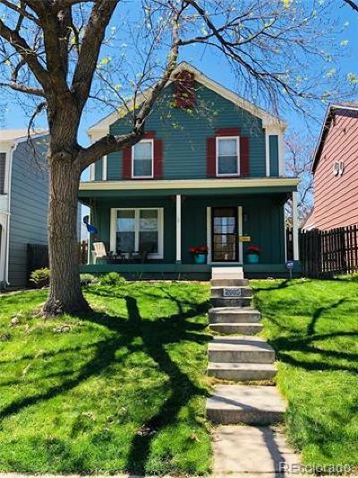 Denver Single Family Home Active: 2665 Osceola Street