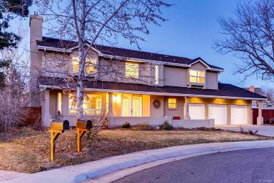 Littleton Single Family Home Under Contract: 7675 South Prescott Place