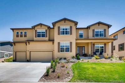 Castle Rock Single Family Home Active: 3478 Running Deer Drive